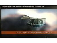 VANGO ATTAR 380 STD AWNING For Camper or Caravan