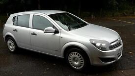 Vauxhall astra low mileage 1 years mot