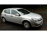 Vauxhall astra low mileage 1 years mot