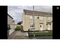 3 bed semi 24 fergus avenue.