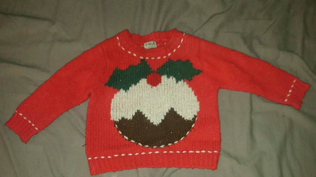Girls christmas Jumper & Dress