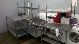 Stainless Steel Catering Tables