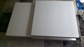 Coffee Table 3 Layers White High Gloss 4 months old