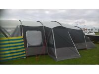 sprayway 8 berth tent with accessories