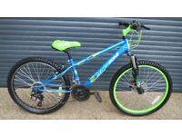 CHILDS APOLLO INTERZONE BIKE IN EXCELLENT LITTLE USED CONDITION. (SUIT APPROX. AGE. 8 / 9+)..