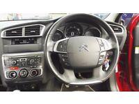 Citroen C4 1.6VTi exclusive 5dr-half leather interior-very low mileage-full history