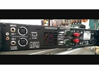 QSC GX5 Power Amp for PA, Band or Dj, with flight case