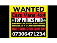 🇬🇧♻️ WE BUY CARS VANS CASH TODAY SELL MY ANY CONDITION WANTED SCRAP FAST COLLECTION EDMONTON