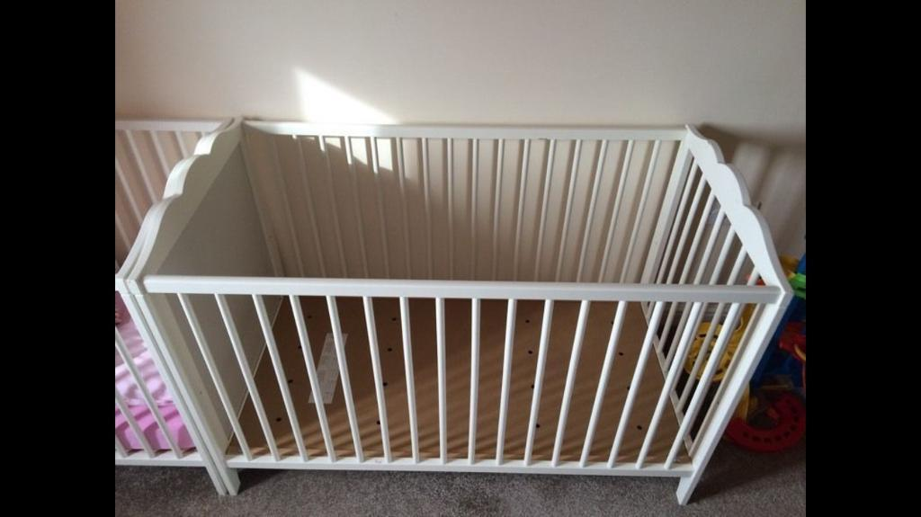 Mothercare mattress and ikea cot