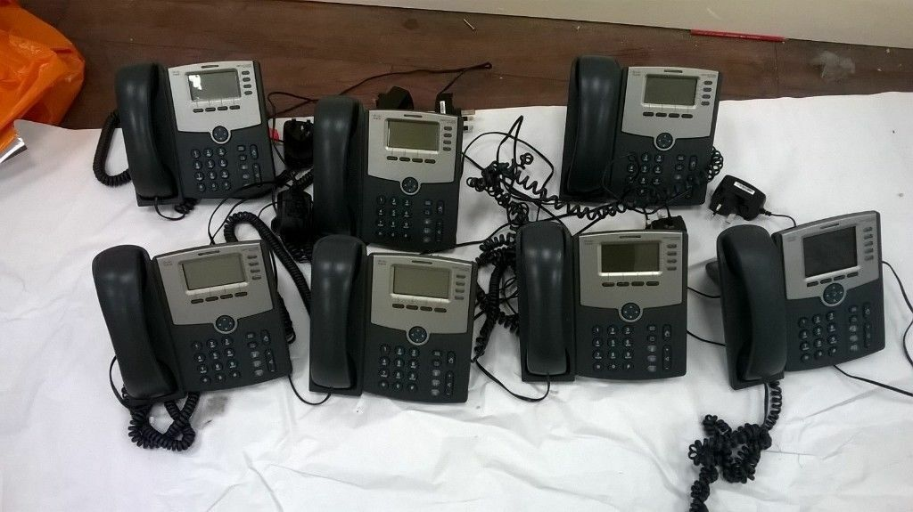 Seven Cisco IP phones SPA504G (£67 new) excellent central London bargain |  in Holborn, London | Gumtree