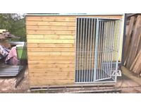 Heavy Duty, Good Quality 8 x 4ft Dog Kennel with Run