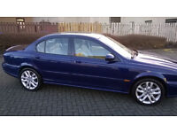 Jaguar x type v6 in absolute stunning condition very very low miles