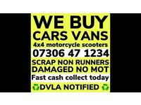 ♻️‼️SELL MY CAR VAN BIKE FOR CASH ANY CONDITION SCRAP DAMAGED NON RUNNING FAST COLLECTION TODAY 3