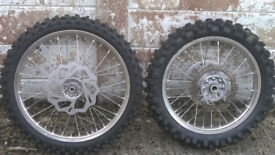CRF450 2016 standard wheels