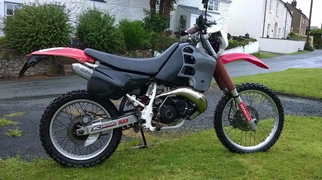 honda crm 125 2stroke road legal motocross bike 33bhp in. Black Bedroom Furniture Sets. Home Design Ideas