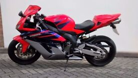 Honda CBR1000 rr Fireblade 2005 LOADS OF EXTRAS SELL or SWAP + cash.GSXR,675,CBR