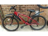 Almost new hardly used mountain bike