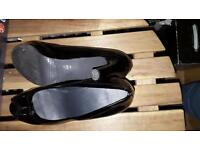 Russell and Bromley Black shoe