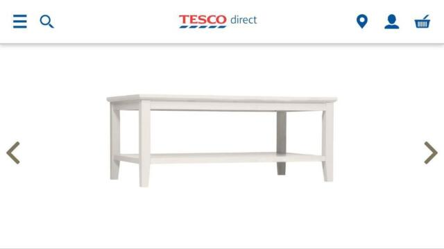 Coffee Table Ivory Tesco Direct In Aberdeen Gumtree