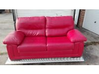 leather sofa 2 seater for sale