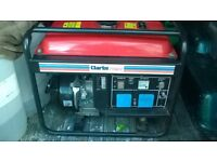 Clarke Generator, Pressure Washer, Wet n Dry Vac excellent condition
