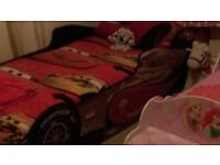 Boys single car bed