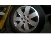 Ford Galaxy z-tec Alloys and Tires