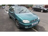 CITREON SAXO 40000 MILES FROM NEW