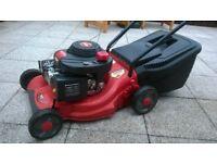 petrol 4 stoke lawnmower