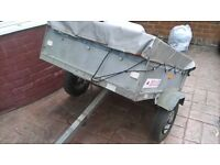ERDE 121 CAMPING /ALL PURPOSE TRAILER
