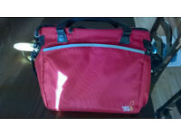 BabaBing Totally Tote Maternity Bag Red Hot