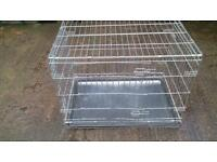 Small to large dog cages for sale