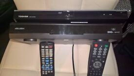 dvd player and seperate freeview recorder box