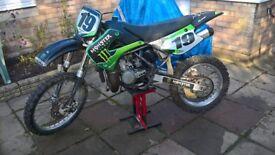 Kawasaki kx 85 BW. NON runner/spares repair.