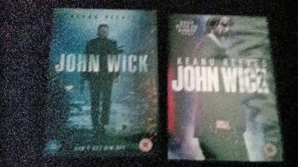 john wick x2 dvds