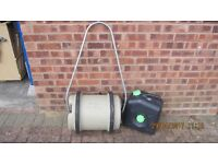 40lt AQUAROLL WATER CONTAINER and waste water barrel