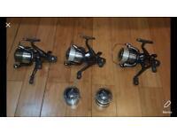 3 x Shimano 10000 xtea reels carp fishing