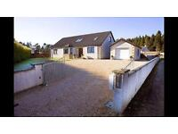 Large 5 bedroom house with garage in kildary