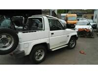 Daihatsu sportrak 4x4 light, split dif
