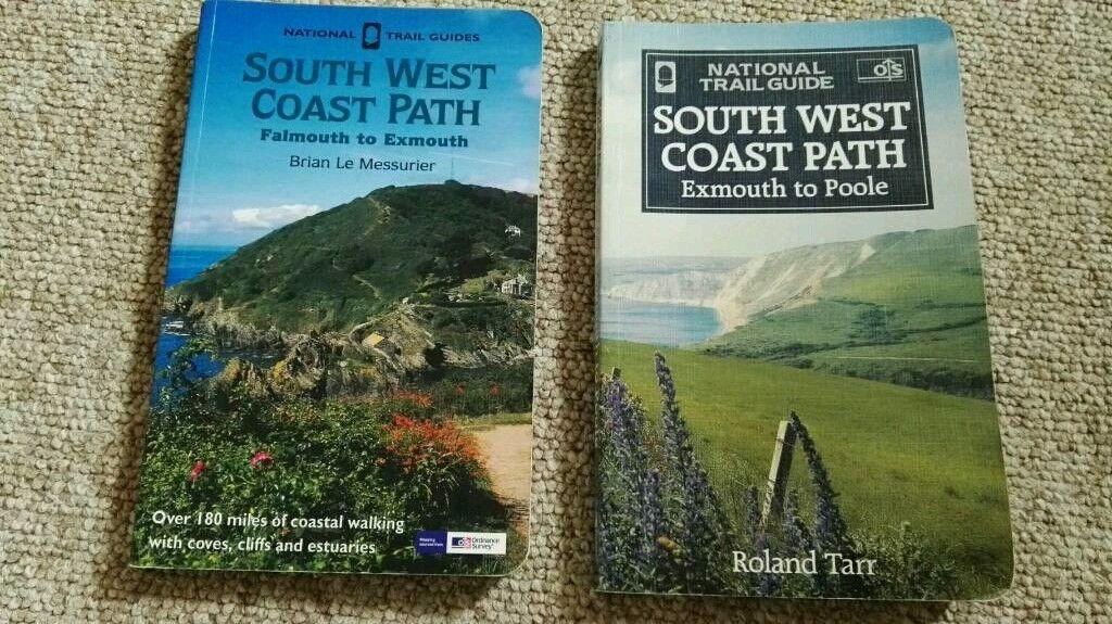 South West Coast Path Books