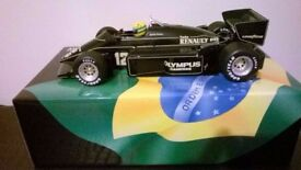 MINICHAMPS AYRTON SENNA 1:12 1985 LOTUS-FIRST F1 GP WIN PORTUGAL,Limited Edition