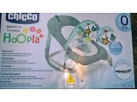 CHICCO HOOPLA BOUNCER !!
