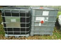£45 ONO, IBC tank 1000l capacity farm and garden water storage.