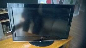 LG TV with a brand new LG 3D blu ray disc player