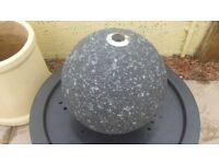 Barron Falls 28cm Granite Touch Sphere Water Feature with LED Lights by Ambienté WF9369 £60 Dumfries