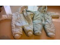 snow suits 0-6 months