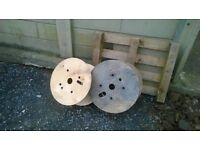 2 x Cable Reels