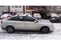 03 Vauxhall Vectra, Drives very good, MOT 03/18, Black Leather