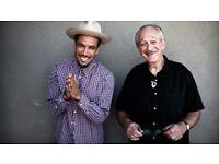 BEN HARPER & CHARLIE MUSSELWHITE - STALLS STANDING - O2 SHEPHERDS BUSH EMPIRE - 07/04!