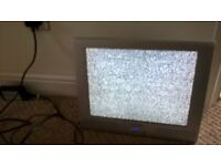 "toshiba CT-858 15"" lcd flat screen tv on bracket working no freeview plymouth"